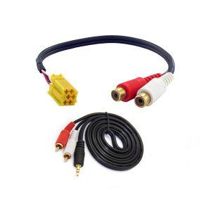Aux Kablo Fiat Linea - Aux Özellikli Teyp Modelleri için Uyumlu