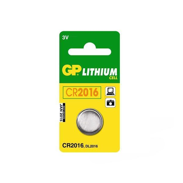 GP - CR2016 Oto Alarm Pili 3 Volt