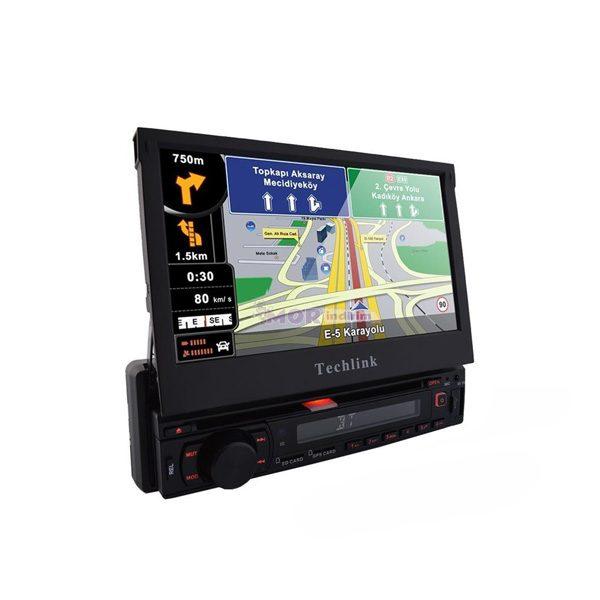 Techlink TE-7510 IN-DASH Navigasyon / DVD / Tv / SD Card/ USB Çalar